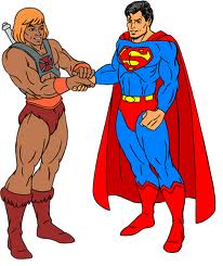 he-man and superman